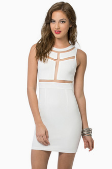 Kira Bodycon Dress - Tobi