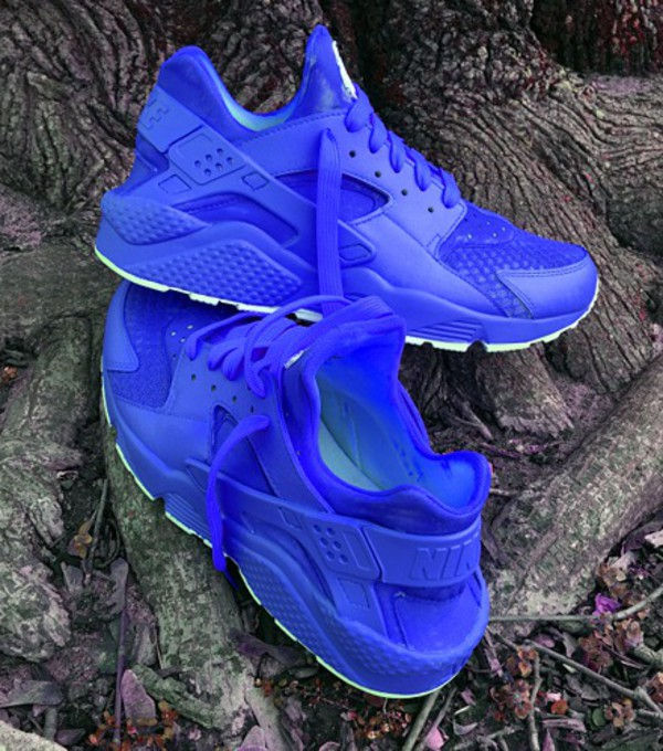 Shoes Blue Blue Sneakers Blue Shoes Huarache Blue