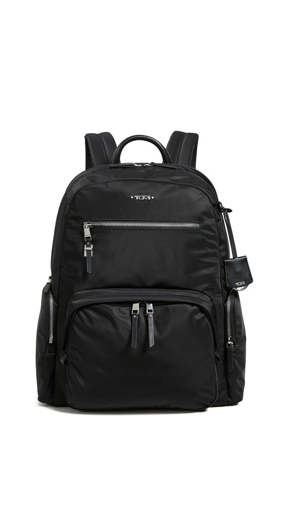 Tumi Carson Backpack in black / silver