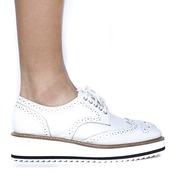 shoes,oxfords,white,white shoes,white oxfords,platform shoes,platform oxfords