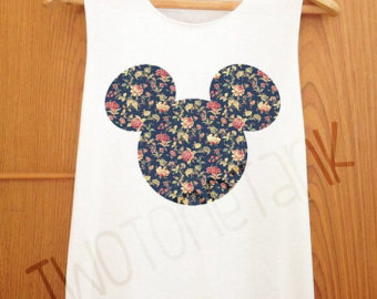 micky maus original tank top tank shirt cute tank tank t shirt. Black Bedroom Furniture Sets. Home Design Ideas