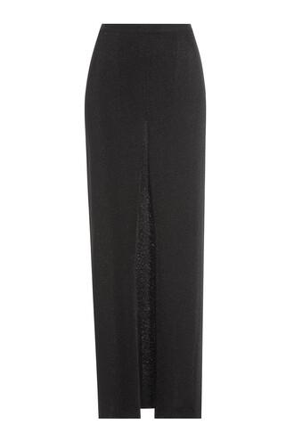 skirt maxi skirt maxi draped black