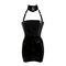 Couture latex restricted strapless mini dress | atsuko kudo