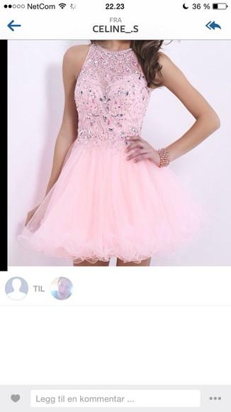 prom dress pink dress short dress
