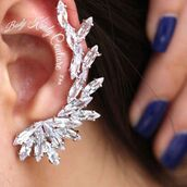 jewels,body kandy couture,diamond ear cuff,cartilage,cartilage cuff,crystal ear cuff,crystal earrings,pageant jewelry,wedding earrings,crystal jewellery,unique earrings,bold,big earrings,silver  ear cuff,ear climber,cuff earring,earring cuff,ear cuff,cz ear cuff,unique wedding jewelry,bridal bijoux,bijoux,couture,bling,elegant fashion,fashion earrings,statement earrings,earings,style,2016 jewelry trends