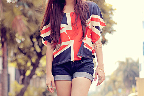 Delicate british icon blouse