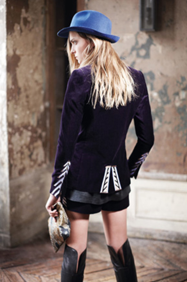 jacket lookbook fashion zadig et voltaire hat
