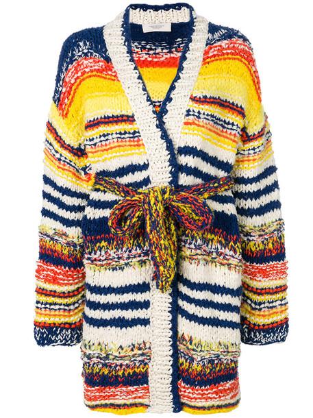 PRINGLE OF SCOTLAND cardigan long cardigan cardigan long women cotton silk sweater