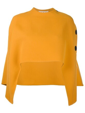 cape yellow orange top