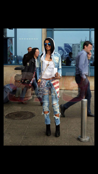 american flag red white blue summer outfits sexy jeans romper spring 2014