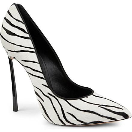 CASADEI - Blade zebra courts | Selfridges.com