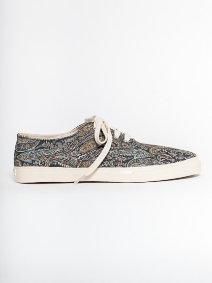 YMC - Men's Lace Up Shoe- Paisley at Gargyle