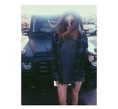 top,plaid,kylie jenner,tartan,grunge,indie,shirt