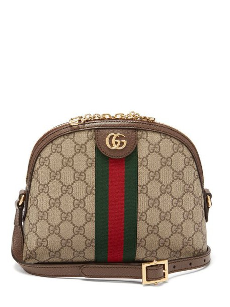 Gucci - Ophidia Gg Supreme Cross Body Bag - Womens - Grey Multi
