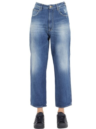 jeans boyfriend jeans denim boyfriend cotton blue