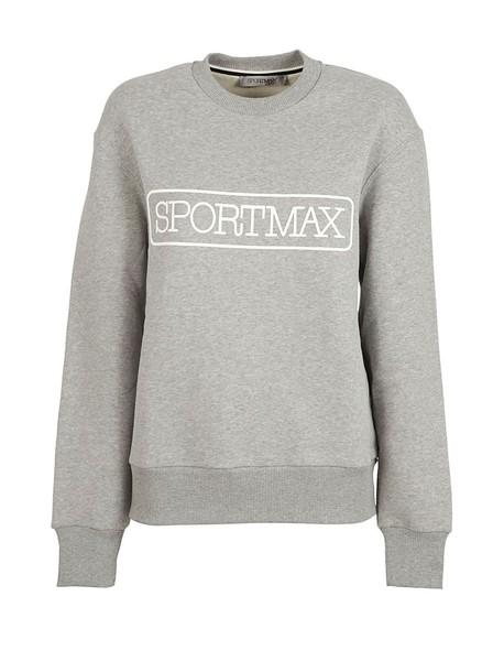 Sportmax sweatshirt white sweater