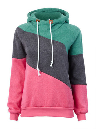 sweater fashion style trendy fall outfits green grey red colorful newchic
