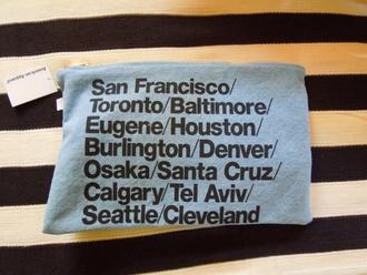 bag clutch american apparel