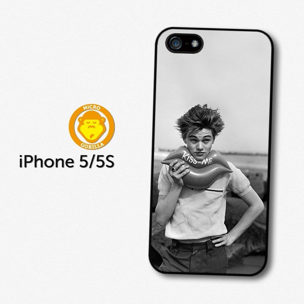 Amazon.com: Leonardo Dicaprio Young Kiss Me case for iPhone 5 5S A1339 ...