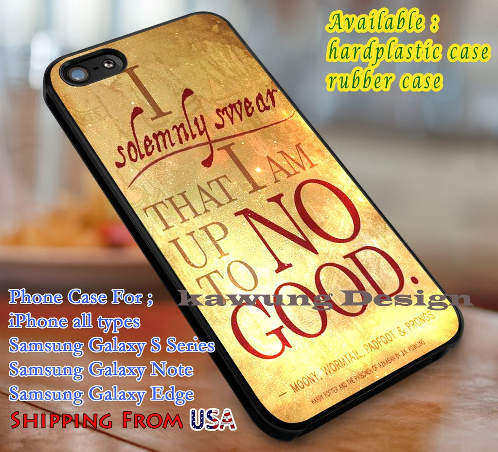 Harry Potter I Solemnly Swear Quote Iphone 6s 6 Plus 5s 5c 5 Case