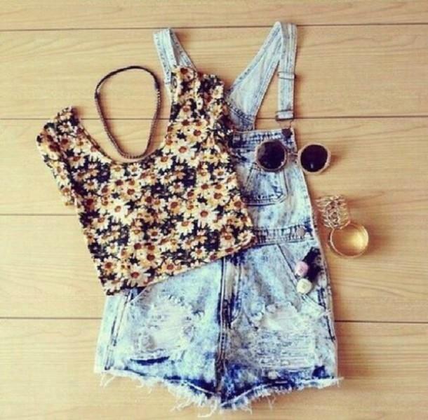 sunglasses overalls