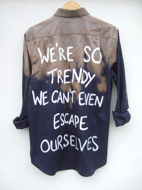 shirt tie dye acid wash grunge