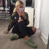 jacket,adidas,camouflage,khaki,khaki bomber jacket,adidas originals,shoes,adidas shoes,green,sneakers
