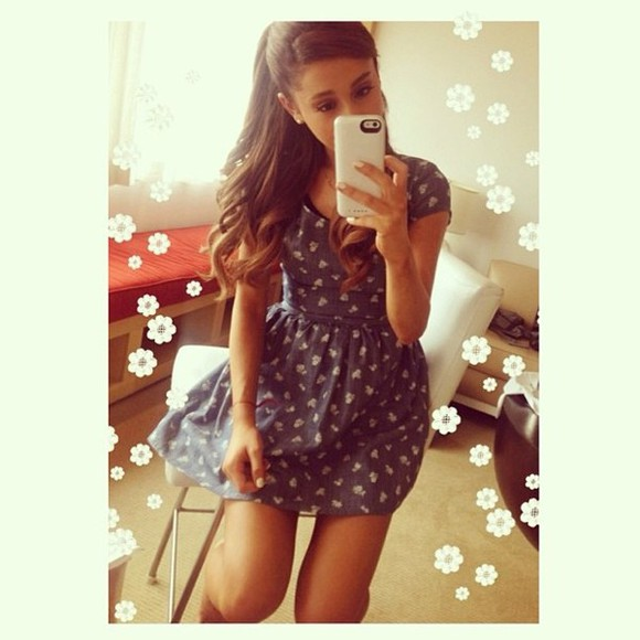 vintage dress cute ariana arianagrande ariana grande