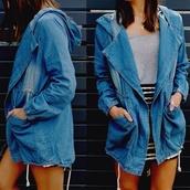 jacket,coat,spring jacket,winter jacket,spring coat,winter coat,denim jacket,anorak,denim coat,denim,denim anorak jacket,denim anorak coat,strip,striped skirt,stripes,grey,grey tank,grey shirt,grey top