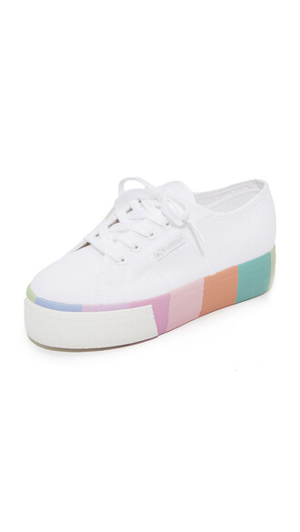sneakers platform sneakers white shoes