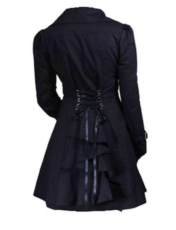 coat silver linings playbook black black coat jennifer lawrence