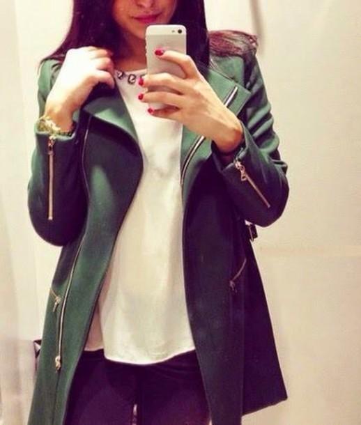 coat jacket army green jacket army pants