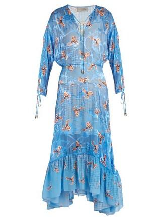 dress satin light blue light blue