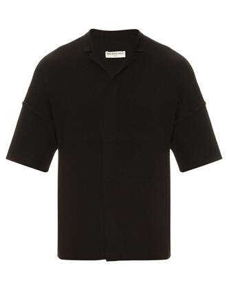shirt knit shirt knit wool top