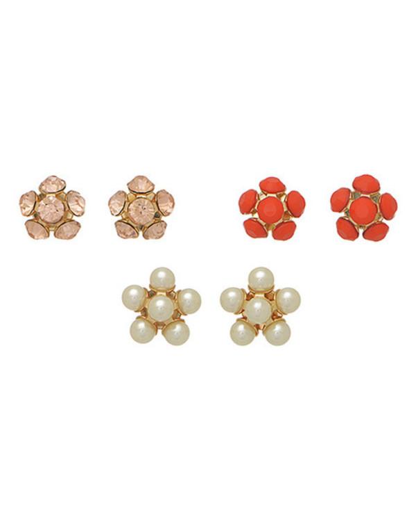 jewels pearl flowers