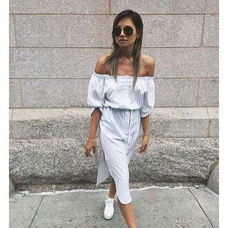 dress white shirt ootd storets shirt dress
