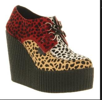 shoes creepers high heels ebay leopard print high heels creepers high heels
