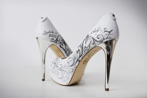 shoes white black shoes high heels white shoes wedding shoes
