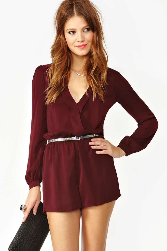 Prudence Wrap Romper | Shop Clothes at Nasty Gal