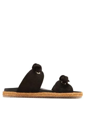 suede black shoes