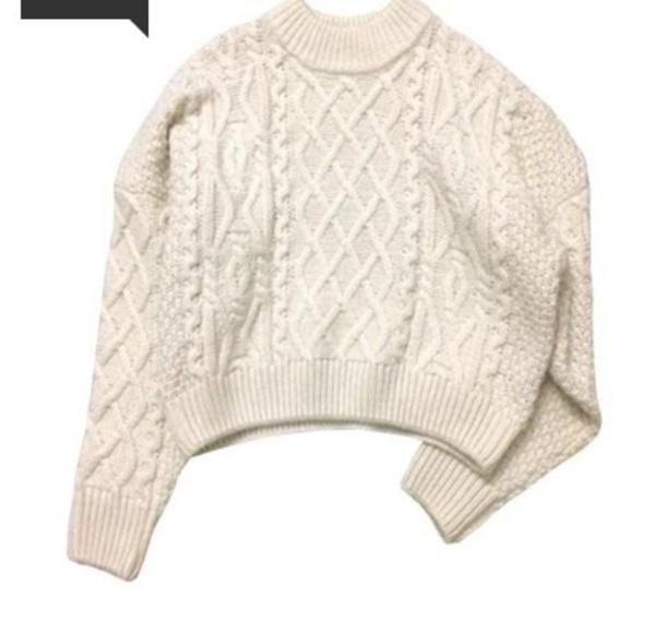 sweater girly nude sweatshirt jumper knitwear knit knitted sweater