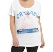 shirt,melanie martinez,crybaby,white t-shirt