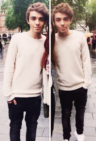 blouse the wanted boys sweater