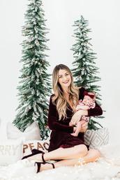 a little dash of darling,blogger,dress,shoes,make-up,velvet dress,pumps,christmas