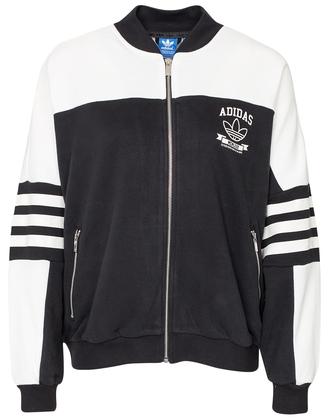 jacket supergirl adidas originals hip hop black white