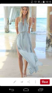 dress,backless dress,green dress,deep v,flowy dress