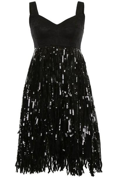 Dolce & Gabbana dress sequin dress lace