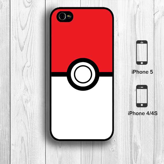 separation shoes 1cd19 c67cb Pokemon Pokeball iPhone 5 Case Pikachu iPhone 4S by aestheticase