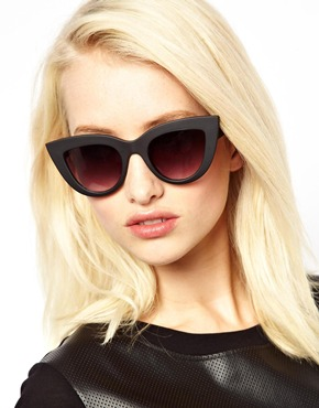 Quay | Quay Kitti Cat Eye Sunglasses at ASOS