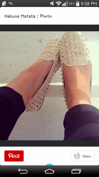 beige shoes beige flat shoe